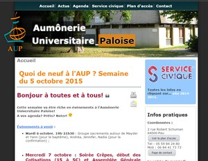 capture site étudiants de Pau AUP.ORG