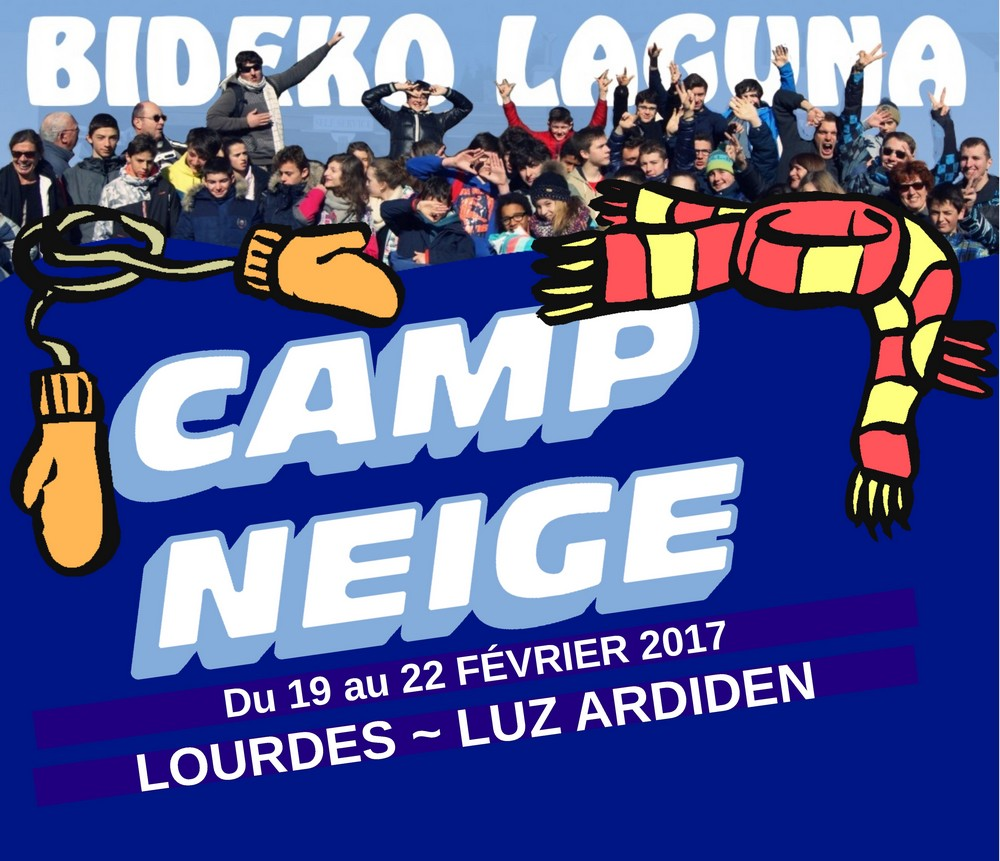 illustration camp neige fevrier 2017