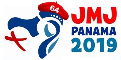 Logo JMJ 2019 style beret 64