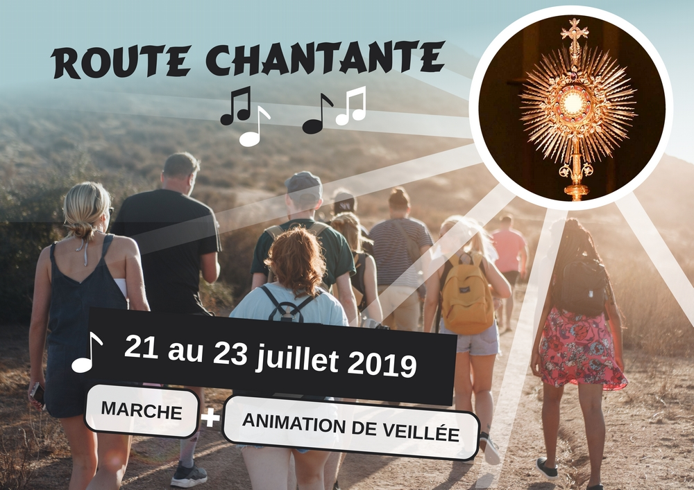 illustration Route chantante juillet 2019
