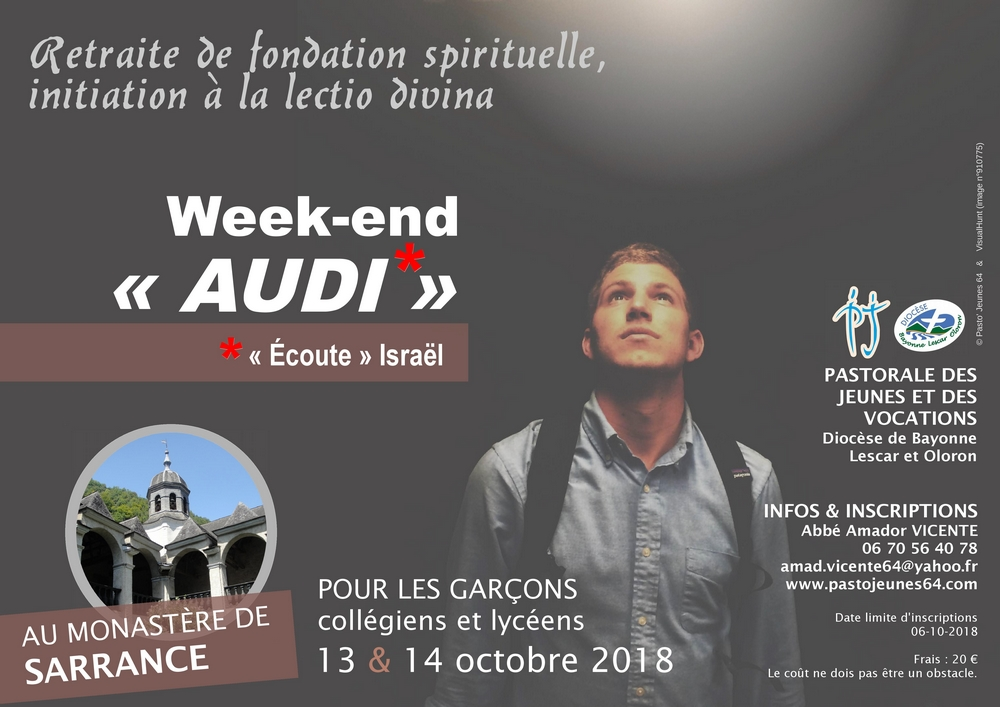 Affiche WE Audi octobre 2018
