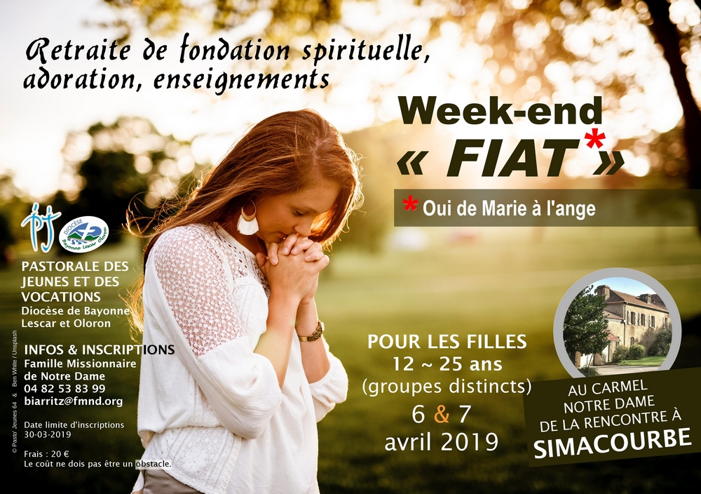 Affiche WE Fiat filles avril 2019